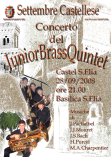 Junior Brass Quintet - Settembre Castellese